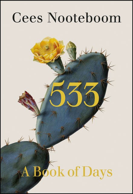 533: A Book of Days – by Cees Nooteboom